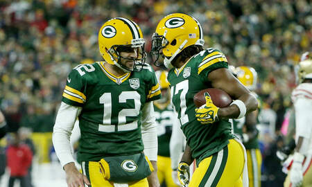 Packers - Aaron Rodgers, Davante Adams named to NFL Pro Bowl