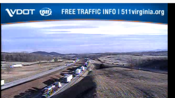 NewsRadio WKCY - News NOW  - 81N @ MM 223 in Augusta County - 5 mile backup