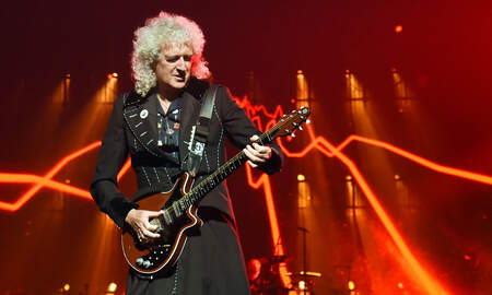 Rock News - Brian May Teases New Solo Single...to Be Released From NASA Mission Control