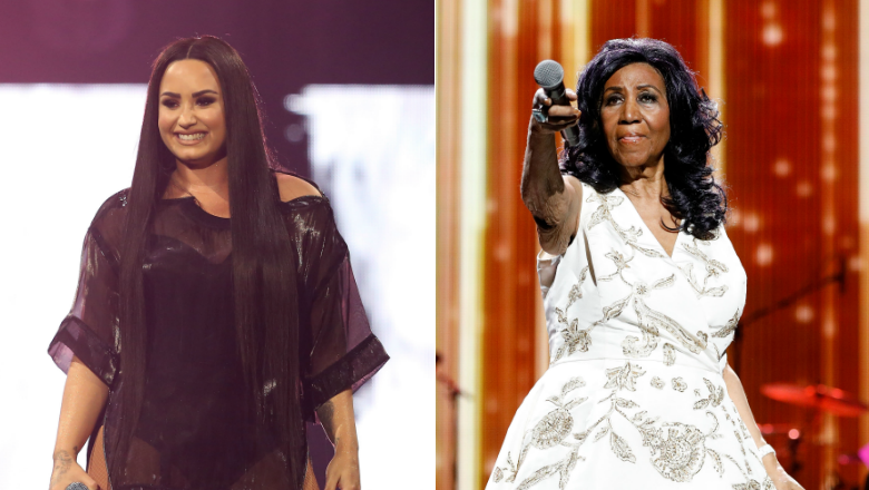Demi Lovato Shares Text Message She Received From The Late Aretha Franklin