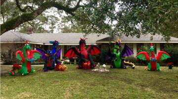 Allison - Lady Gets in Feud Over Dragon Holiday Display