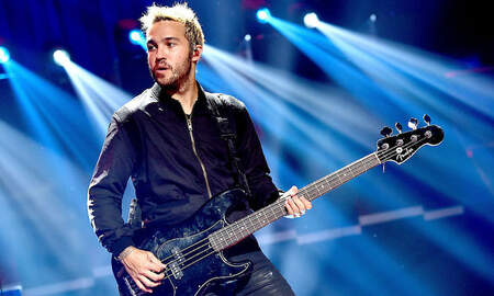 Trending - Fall Out Boy Launches Custom Pete Wentz Bass As Part Of Holiday Merch Line