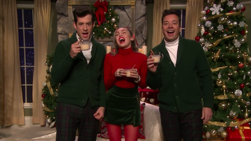 Holidays - Miley Cyrus & Mark Ronson Give 'Santa Baby' A Major Feminist Makeover