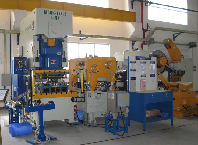 Advanced manufacturing punch press equipment