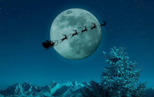 Santa Is Coming! Track Santa here!