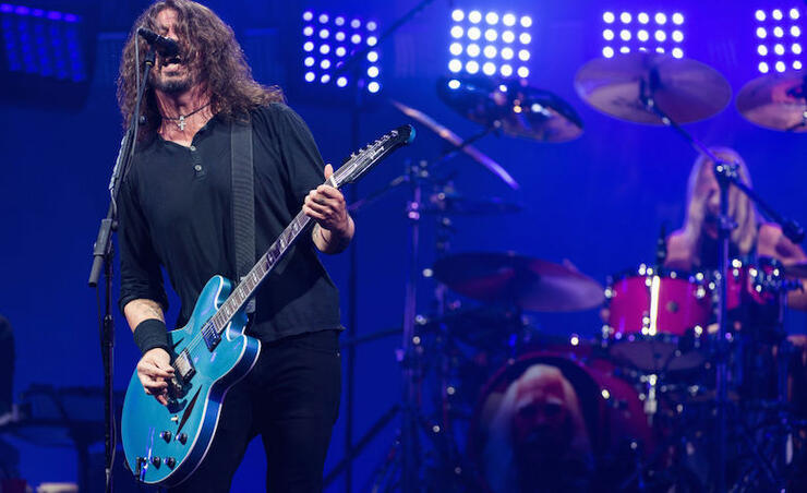 Foo Fighters Cover Psychedelic Furs, B-52's on Surprise '01020225' EP | iHeartRadio