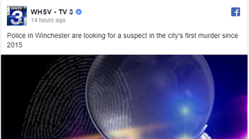 NewsRadio WKCY - News NOW  - Winchester PD looking for a suspect in city's first murder since 2015
