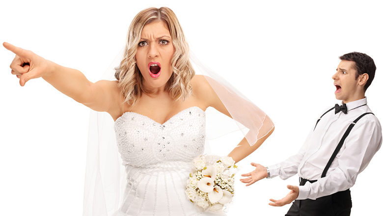 Angry Bride Demands Wedding Guests Leave For Not Obeying The