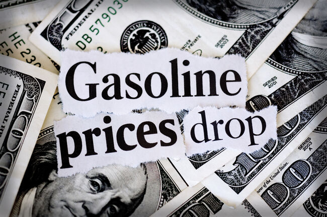 Gas Prices Drop Getty RF