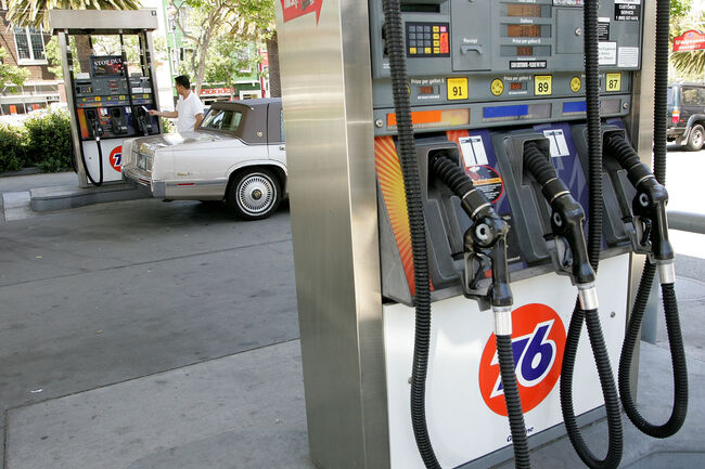 gas prices continue falling