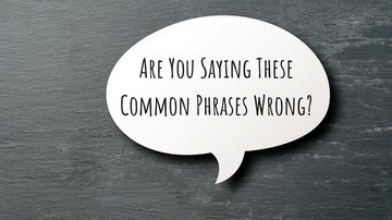 Rockin' Rick (Rick Rider) - Are you saying these common phrases INCORRECTLY???
