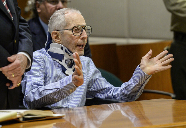 Robert durst appearing in court