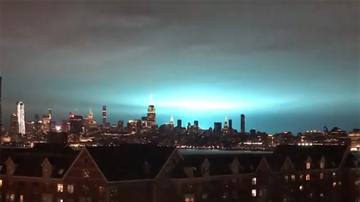 Local News - Strange Lights Seen Over New York City Explained