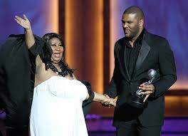 Sonya Blakey - Tyler Perry leads the way in Aretha salute!