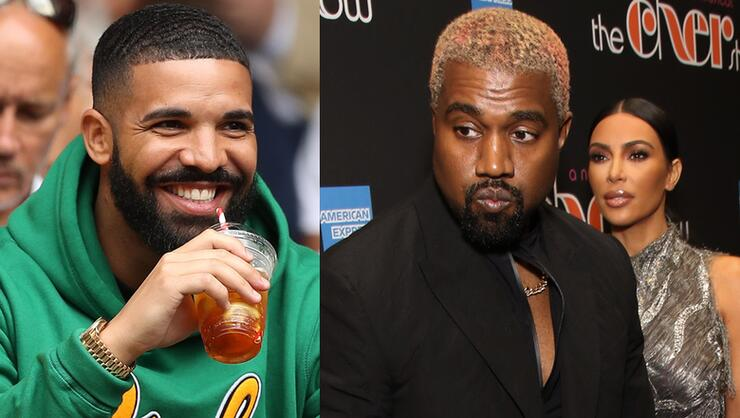 Kanye West Goes Off On Drake For Following Wife On Instagram