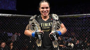 Sports Top Stories - Amanda Nunes Knocks Out Cris 'Cyborg' Justino In Under One Minute