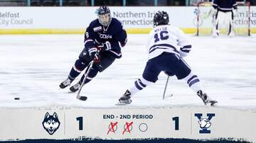 Hockey - UConn Hockey 3, Yale 1