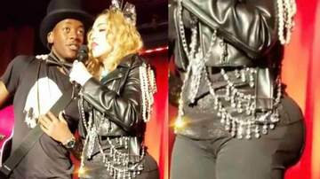 Lori Bradley - Inflated buns on Madonna?!??!