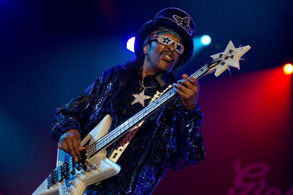Bootsy Collins Is Hanging Up His Bass