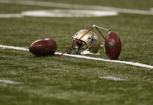 New Orleans Saints Helmet Getty Images