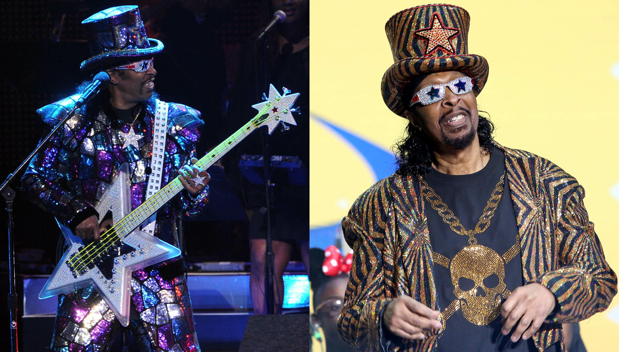 Bootsy Collins Retires From Playing Bass In Concert