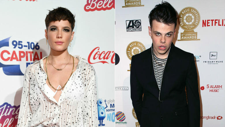 Halsey Gets Cozy With Rocker Yungblud In New Instagram Post Hot Country 106 5 Fm
