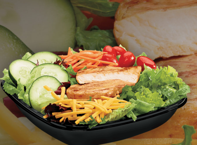 Nutritionists Top 5 Fast Food Salads