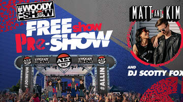ALTer EGO - The Woody Show's Free Show Pre-Show Is Happening At The Forum