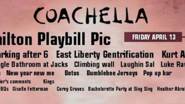 Travis - This Yinzer Coachella Lineup Is One Of The Funniest Things I Have Ever Seen