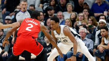 SPURSWATCH - DeRozan has huge game as Spurs slam Raptors 125-107