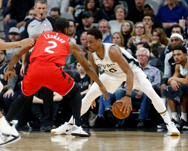DeRozan and Leonard