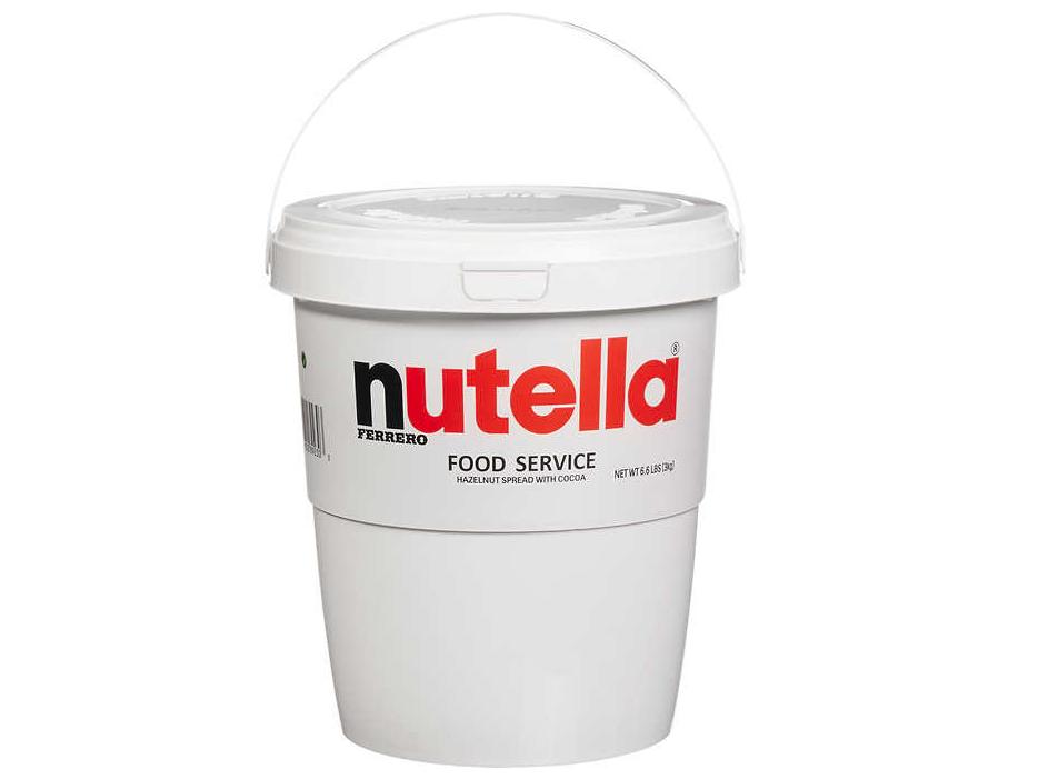 costco selling 7-pound tub of Nutella