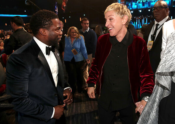 Ellen wants Kevin Hart to have a second chance at hosting the Oscars