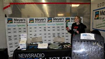 Photos - WSYR at Meyer's RV Show (PHOTOS)