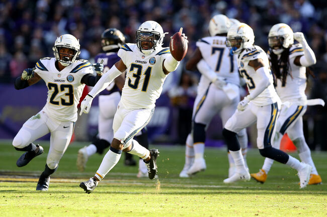 Chargers defeat Ravens to advance to next week's divisional playoffs