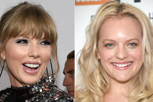 Taylor Swift Surprises Elisabeth Moss With Sweet Message At Golden Globes