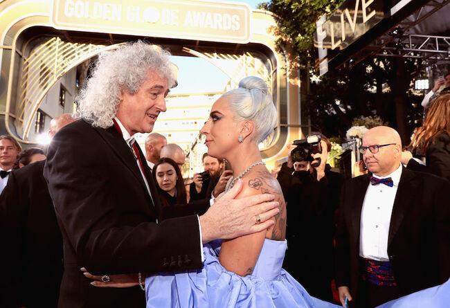 Brian May, Lady Gaga