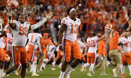 Sports Top Stories - Clemson Routs Alabama In National Championship Game