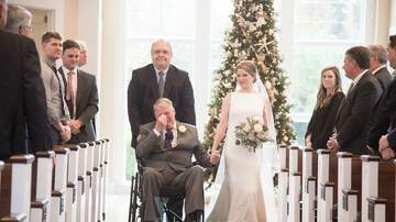 Madison - Tearjerker alert!  Alabama bride gets miracle dance with dying father