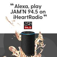 Alexa, Play JAM'N 94.5 on iHeartRadio