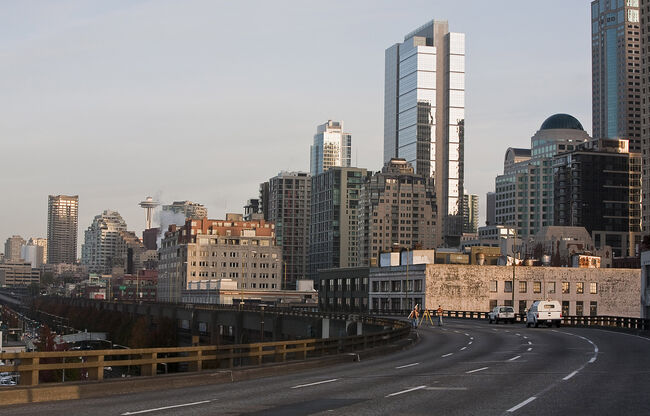 Alaskan Way Viaduct: Photo from Getty Images