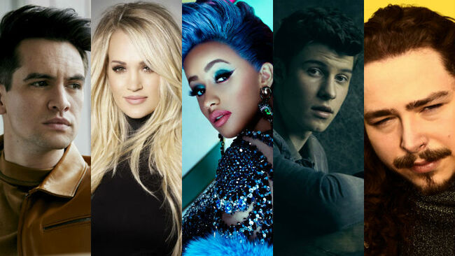 iHeartRadio Music Awards Nominees