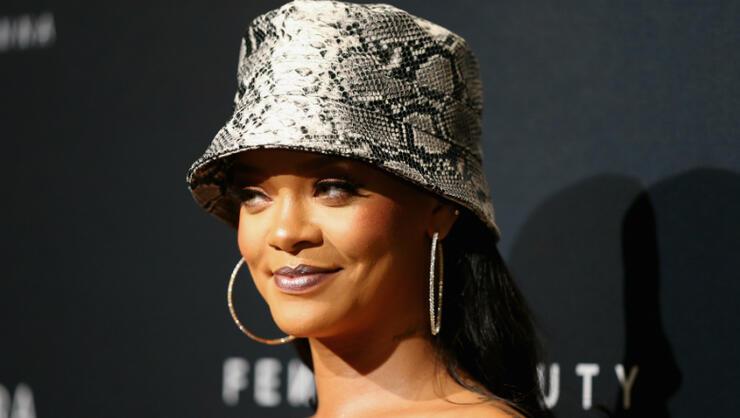 e80a0590d Rihanna Strips Down For Sexy Savage X Fenty Lingerie Photo Shoot ...