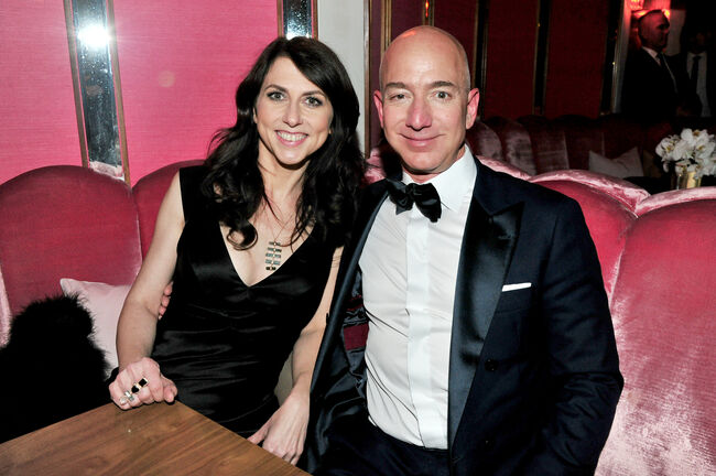 Mackenzie and Jeff Bezos divorcing
