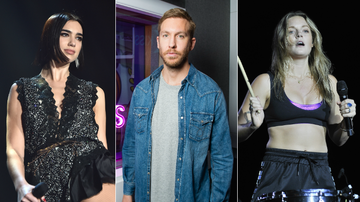 Trending - Dua Lipa, Calvin Harris & Tove Lo Spotted In The Studio Together