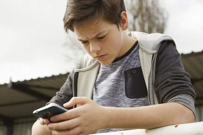 Teenager Text Phone