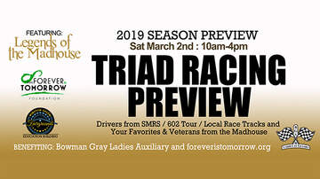 None - 2019 Triad Racing Preview w/ Legends of the Madhouse