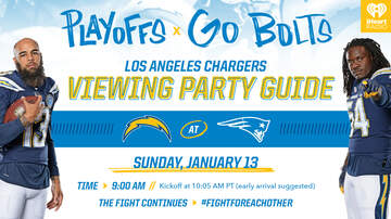 Chargers Central - Where to Watch the Chargers Take On The Patriots Around Southern California