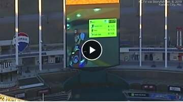 KC O'Dea Show - Helicopter Spots Someone Playing Mario Kart On MLB Stadium Big-Screen