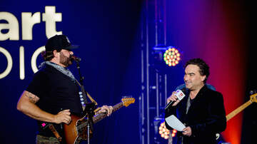 iHeartRadio Live - Johnny Galecki Plays Drums For Randy Houser During Album Release Party